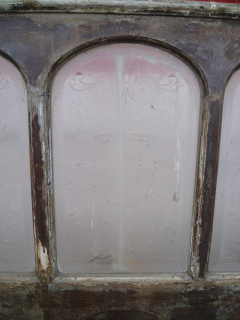Antiques Atlas Decorative Victorian Cut Glass Pub Partition