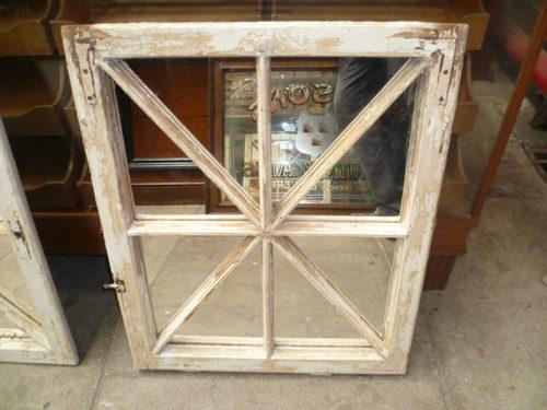 Antiques Atlas DECORATIVE WINDOW MIRROR