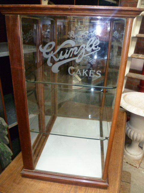 Rare Kunzle Cakes Shop Display Cabinet Antiques Atlas