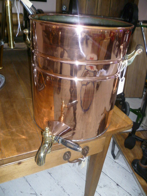 Antiques Atlas Victorian Polished Copper Water Urn