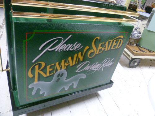 Vintage Supercar Fairground Ghost Train Antiques Atlas