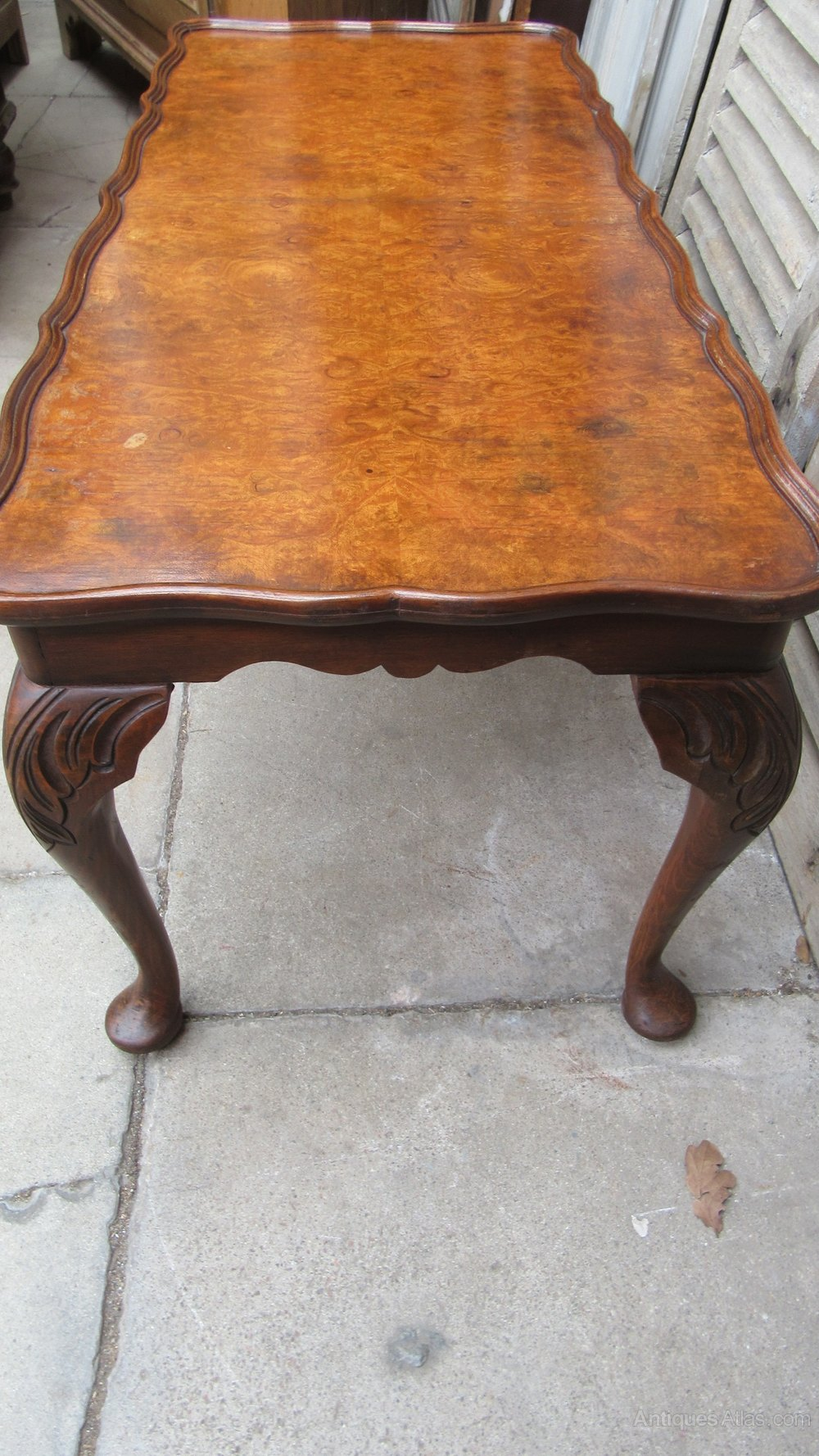 Vintage Walnut Coffee Table Antiques Atlas