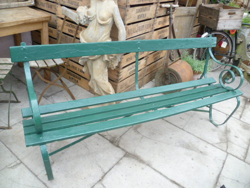 Attractive Antique Garden Bench /seat ...