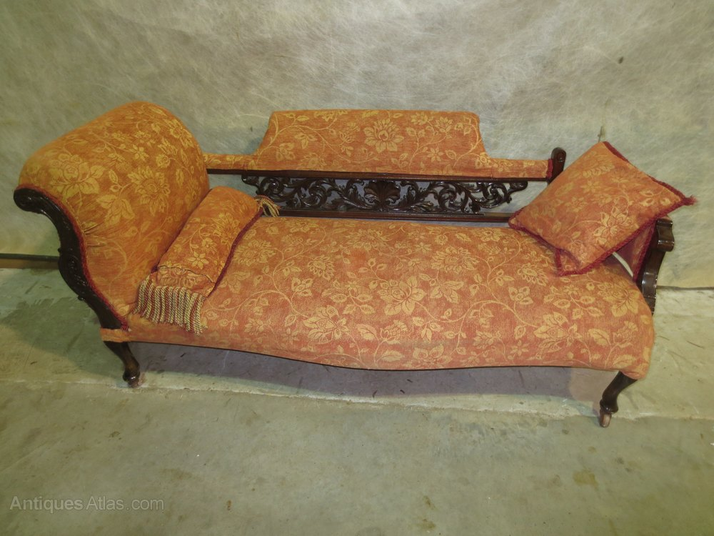 Chaise longue antiques atlas for Antique chaise longue