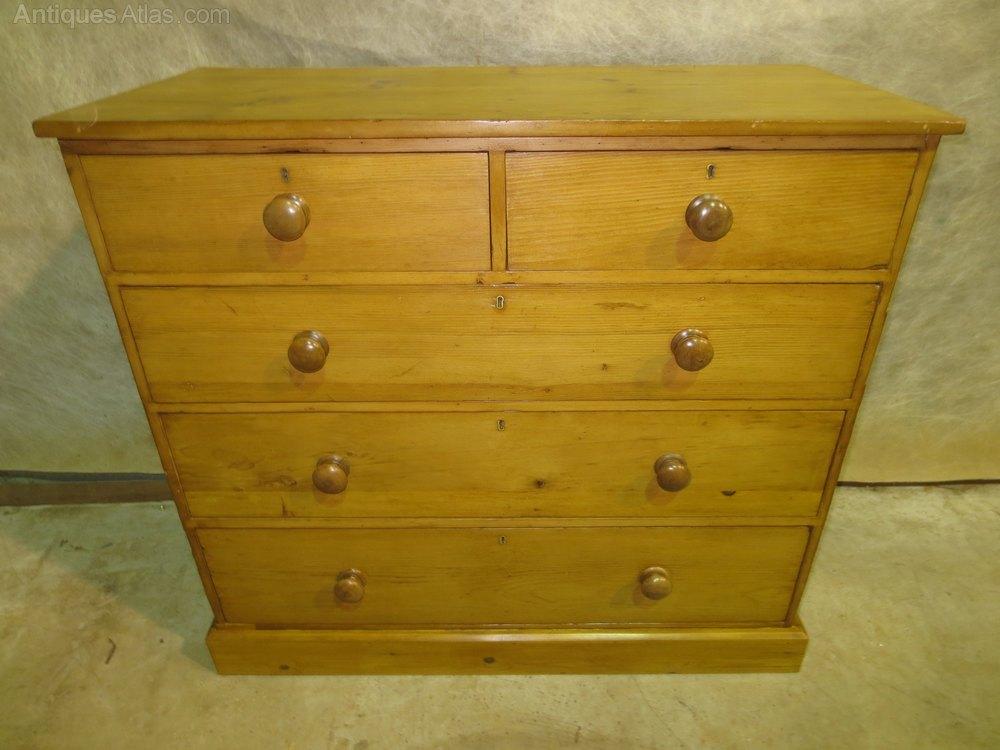 Pine Chest Of Drawers ~ Pine chest of drawers antiques atlas