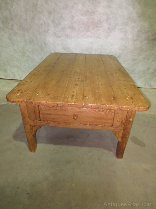 Pine Coffee Table Antiques Atlas