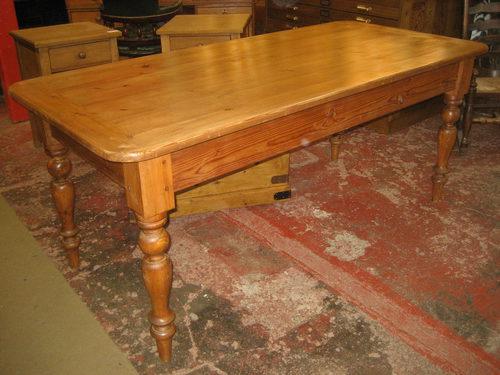 pine kitchen table - antiques atlas