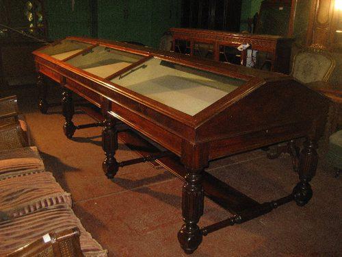 Victorian Mahogany Museum Display Cabinet Antiques Atlas