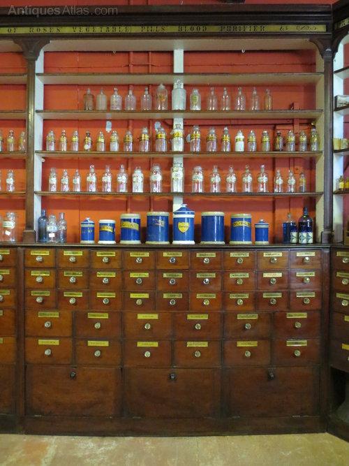 Victorian Mahogany Pharmacy Cabinets Antiques Atlas