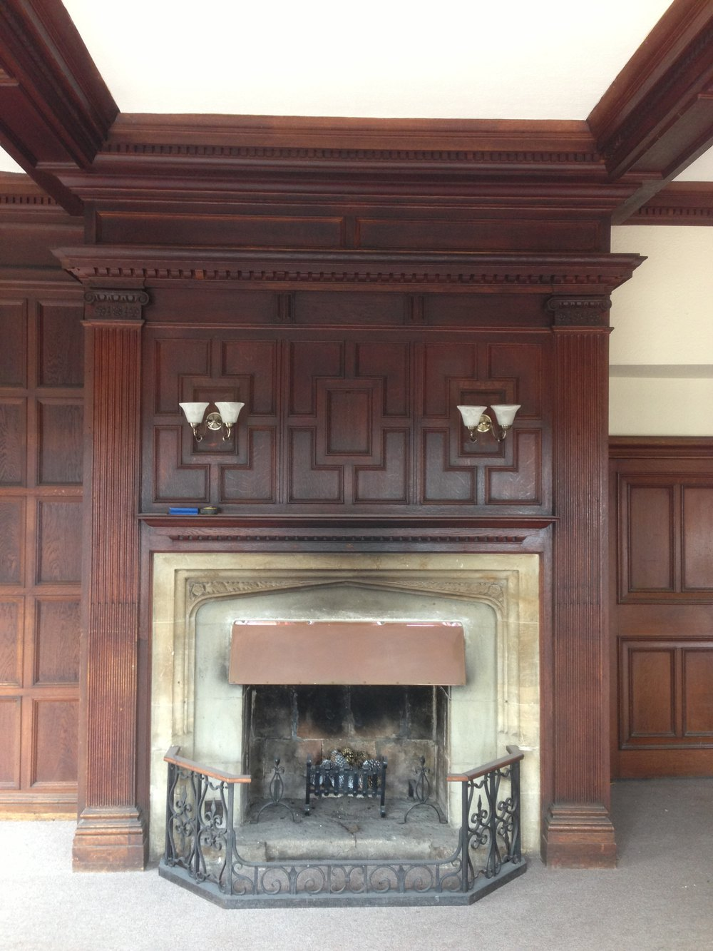 Antique Wood Paneling For Walls: Victorian Oak Panelling