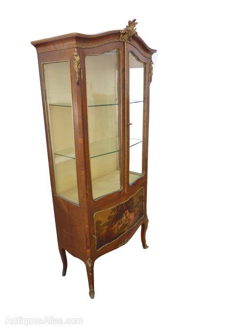 19th C French Kingwood And Ormulu Display Cabinet Antiques Atlas