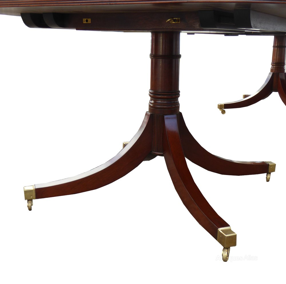 Antiques atlas large regency style 10 seat dining table for 10 seating dining table