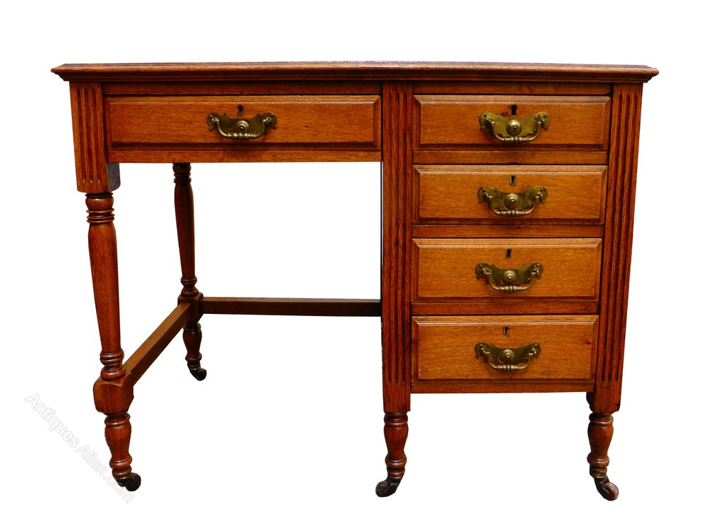 antique oak writing desk Antique victorian carved oak greenman writing desk bureau table quality antique bureau writing desk solid mahogany 4 drawers drop leaf.