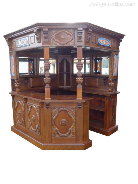 Antiques Atlas Mock Tudor Canted Corner Home Bar