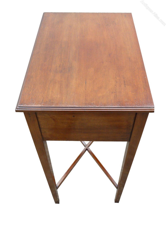 small edwardian mahogany hall table antiques atlas