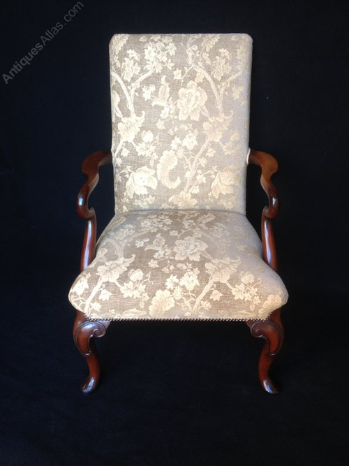 Antiques Atlas Mahogany Library Chair By Duresta