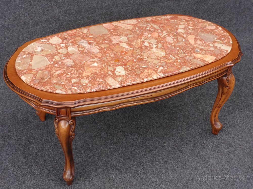 Marble Topped Coffee Table Antiques Atlas