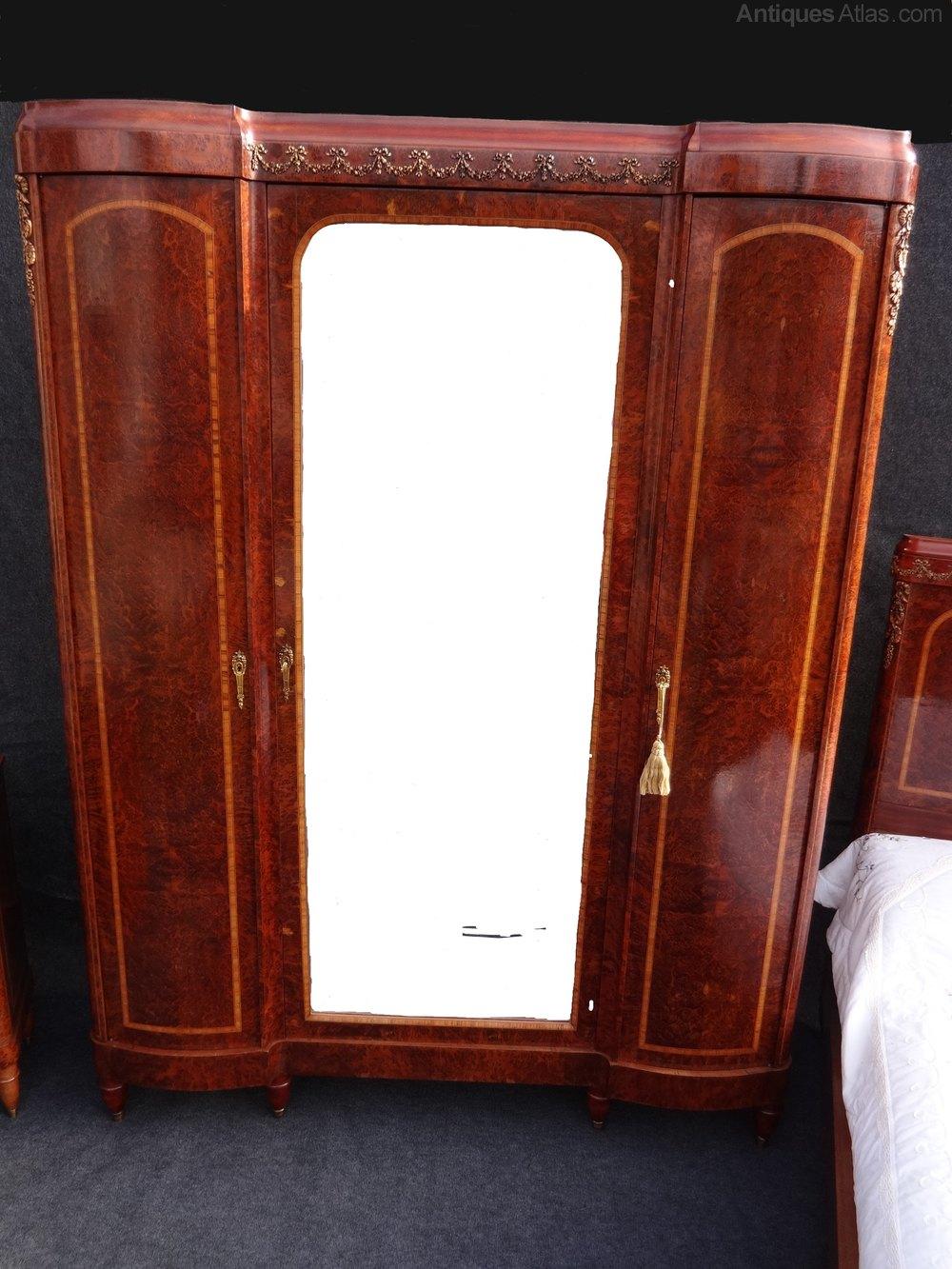 superb quality amboyna bedroom suite antiques atlas