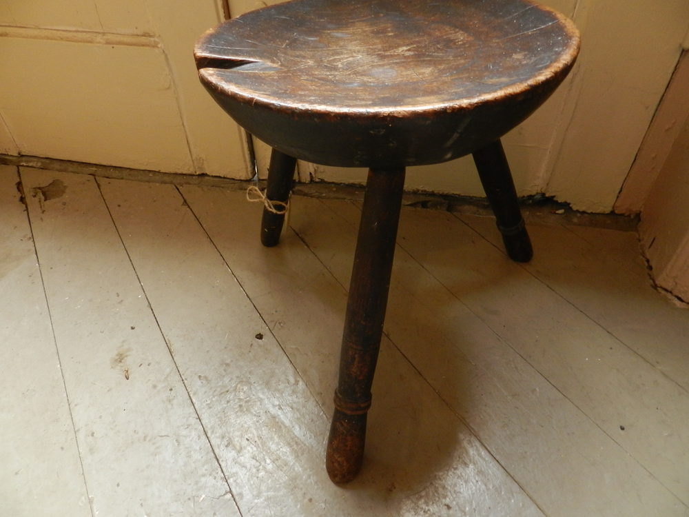 Milking Bench Part - 45: Welsh Milking Stool ...