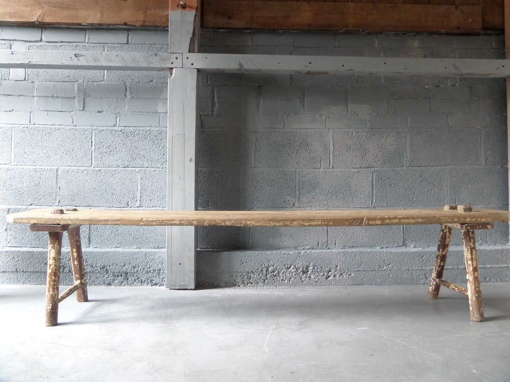 Elm Primitive Bench Antiques Atlas