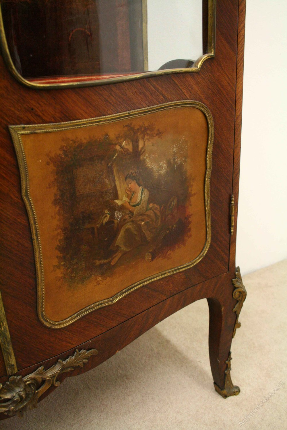 French Kingwood Vernis Martin Cabinet Antiques Atlas