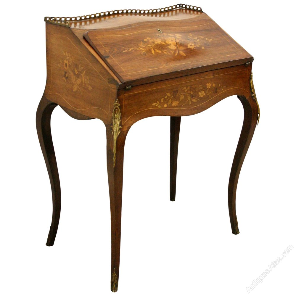 Ladies Writing Desk ~ French ladies writing desk bureau de dame antiques atlas