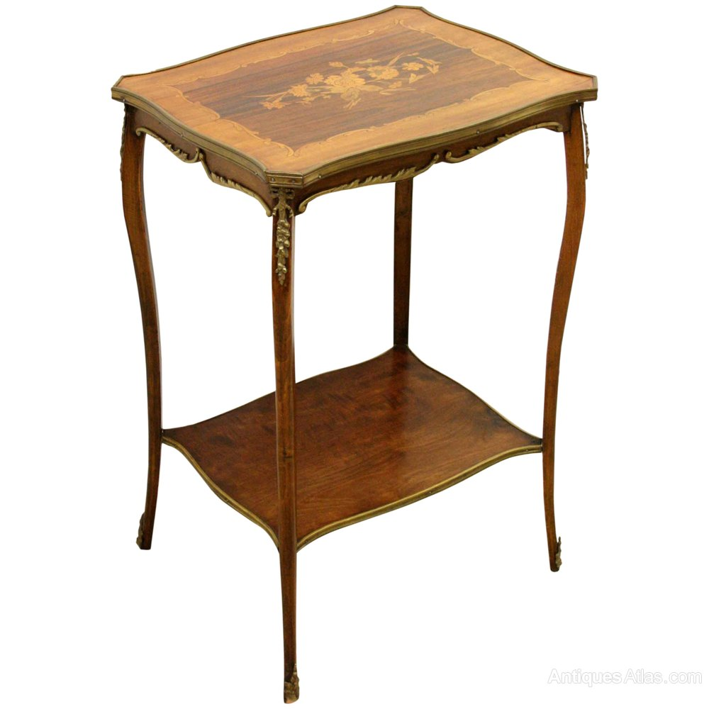 French shaped top occasional table antiques atlas for Occasional tables