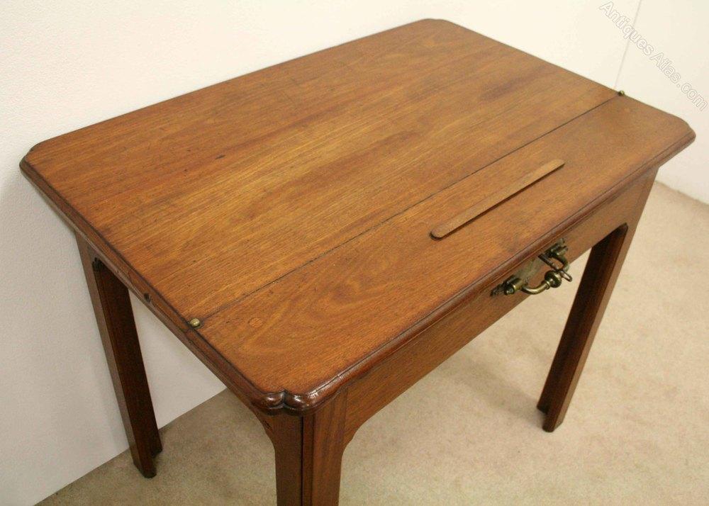 George iii figured mahogany architects desk antiques atlas for Architecte desl definition