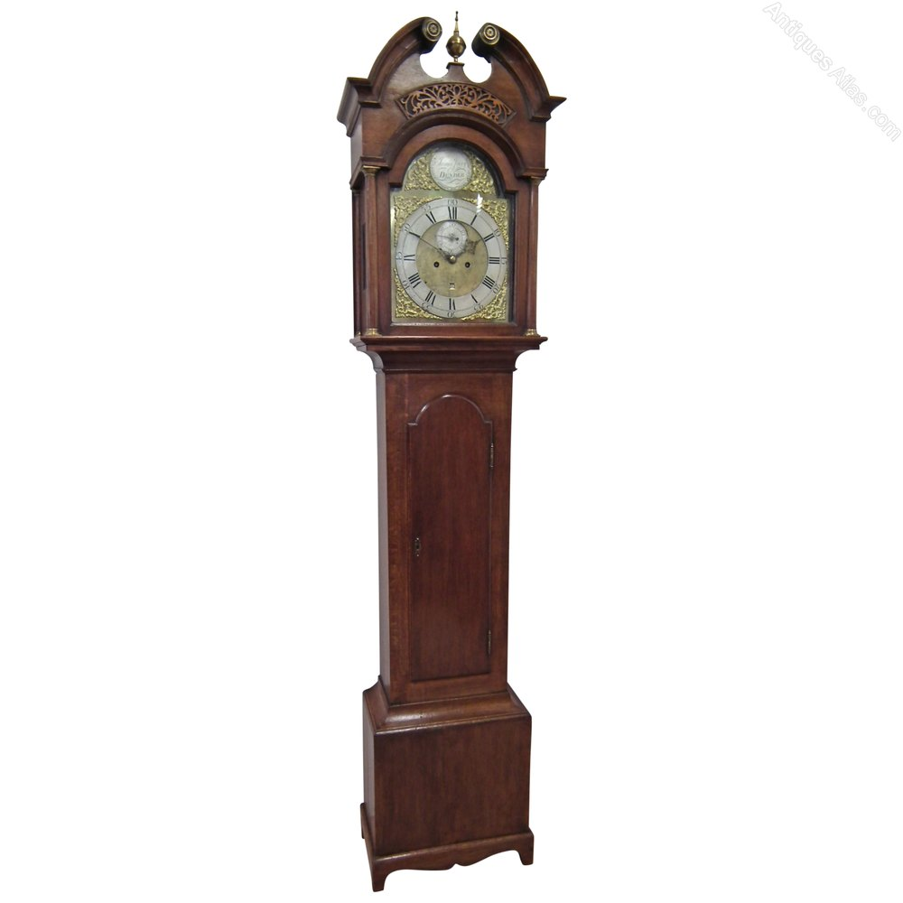 Antiques Atlas George Iii Oak Grandfather Clock By James