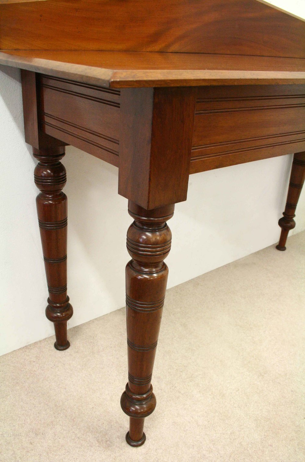 late victorian mahogany hall table antiques atlas