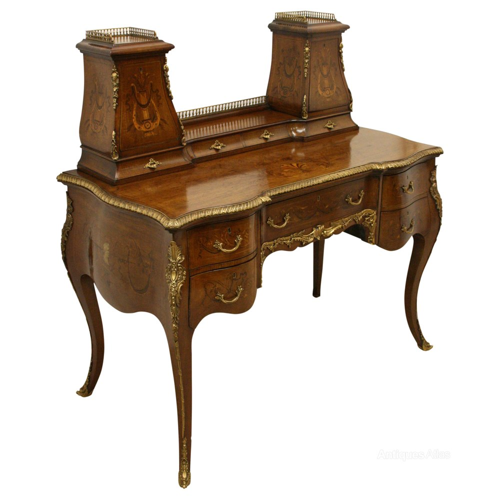 Late victorian mahogany ladies writing desk antiques atlas