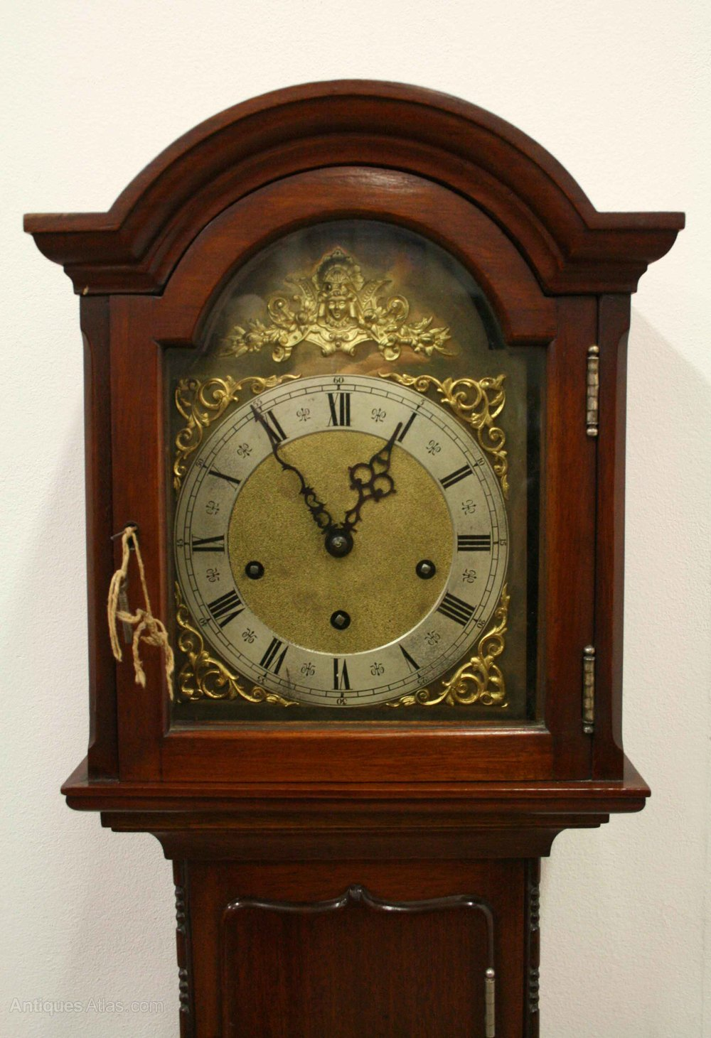 Antiques Atlas Mahogany Grandmother Clock