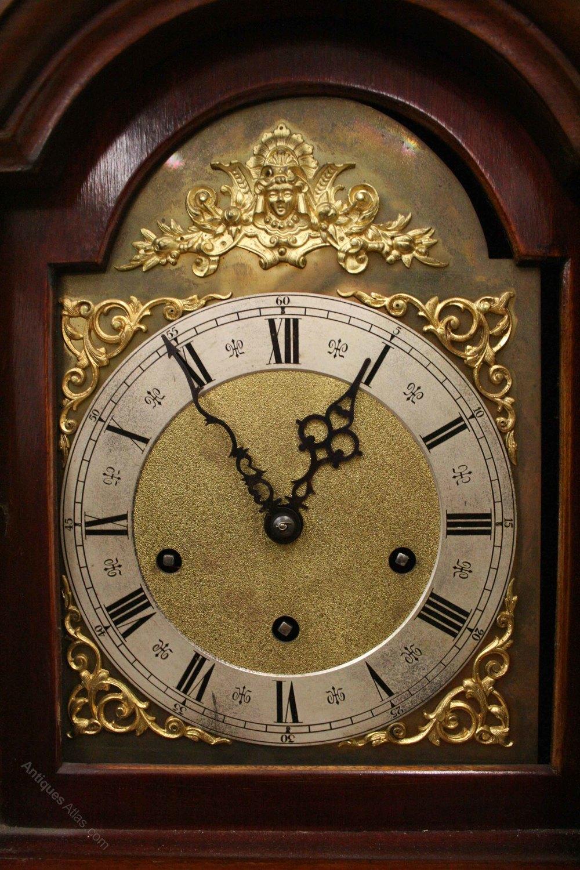 Antiques Atlas Mahogany Grandmother Clock