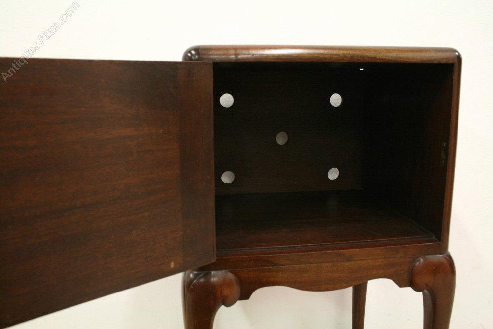 scottish mahogany locker   antiques atlas