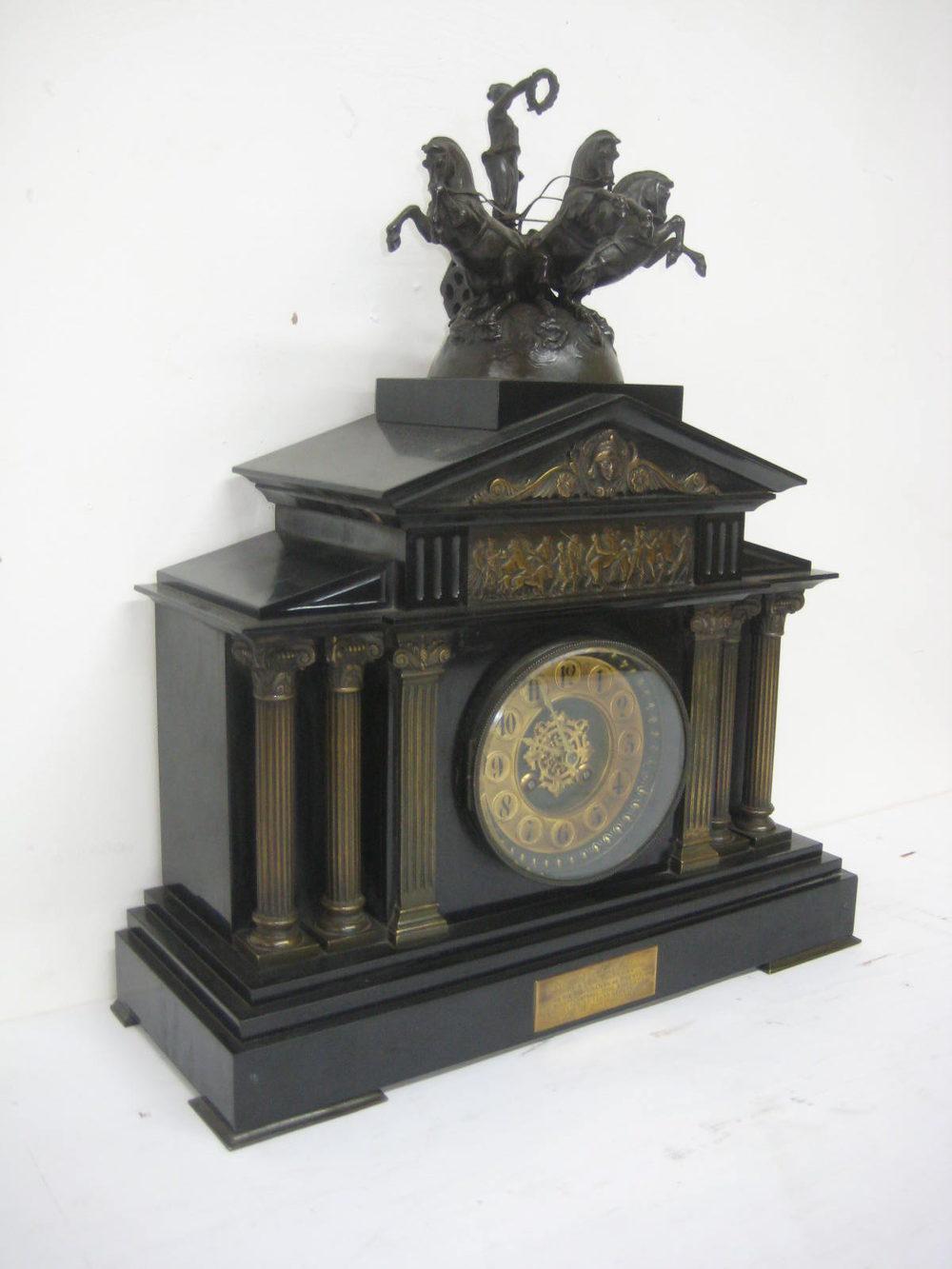 Antiques Atlas - SALE Slate Mantel Clock