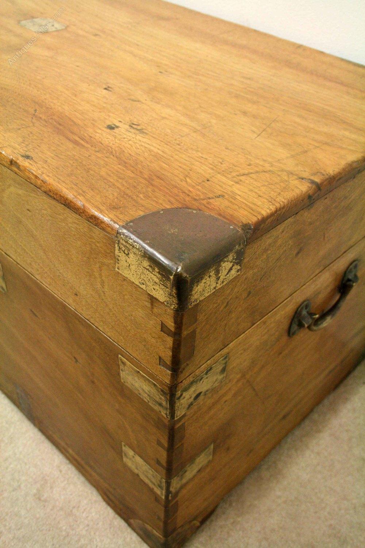 Victorian Camphor Wood Trunk Kist Antiques Atlas