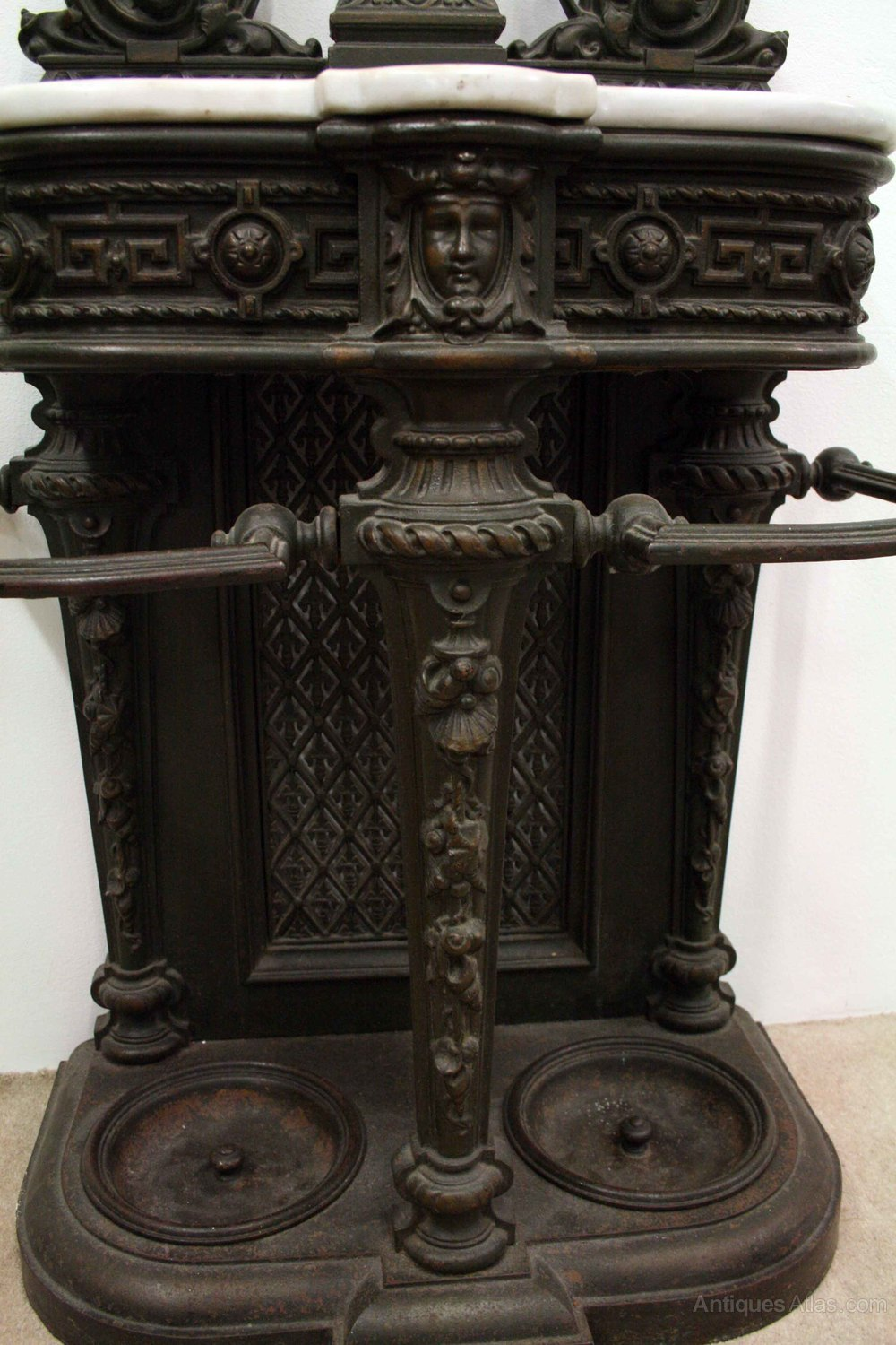 Victorian Cast Iron Hall Stand Antiques Atlas