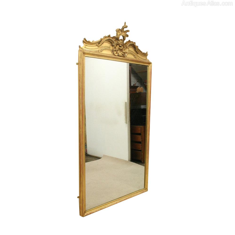 Antiques Atlas Victorian Gilt Overmantel Mirror