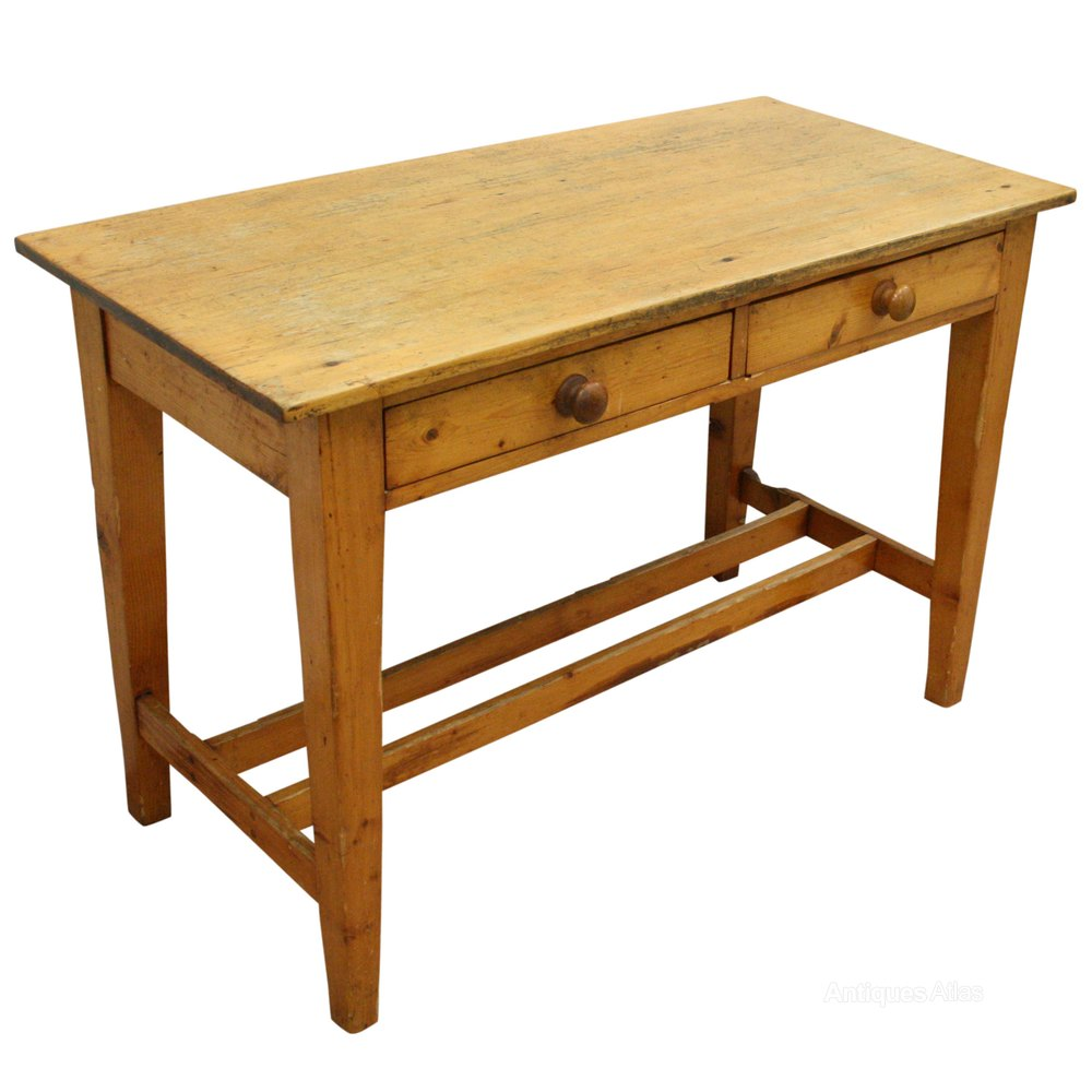 Victorian pine kitchen table antiques atlas for Kitchen table