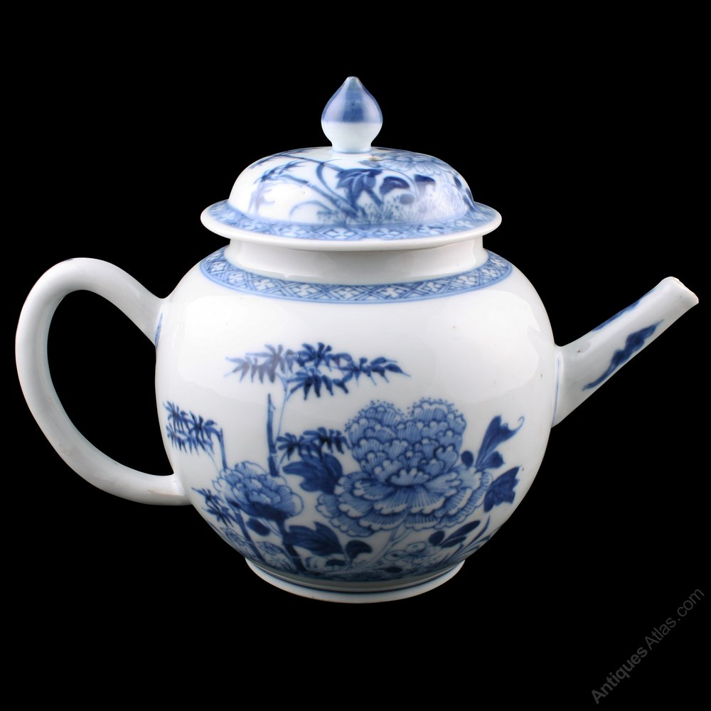 Antiques Atlas 18th Century Chinese Porcelain Tea Pot