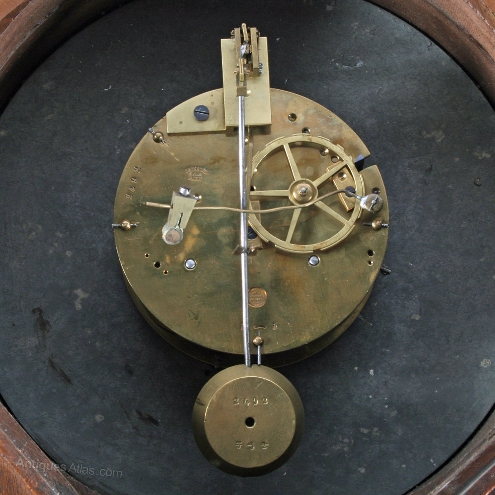 antiques atlas french carved wood wall clock