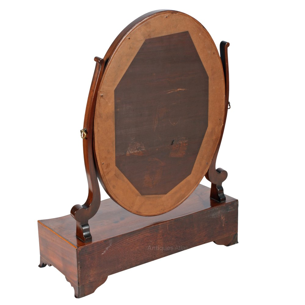Antiques atlas georgian serpentine dressing mirror