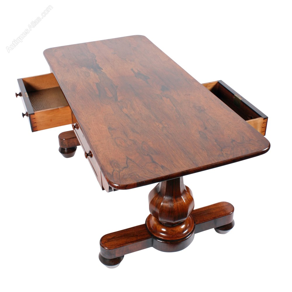William Iv Rosewood Coffee Table Antiques Atlas