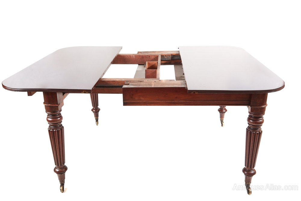 Excellent quality william iv extending table antiques atlas for Best quality dining tables