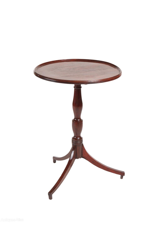 george iii mahogany tripod wine lamp table antiques atlas. Black Bedroom Furniture Sets. Home Design Ideas