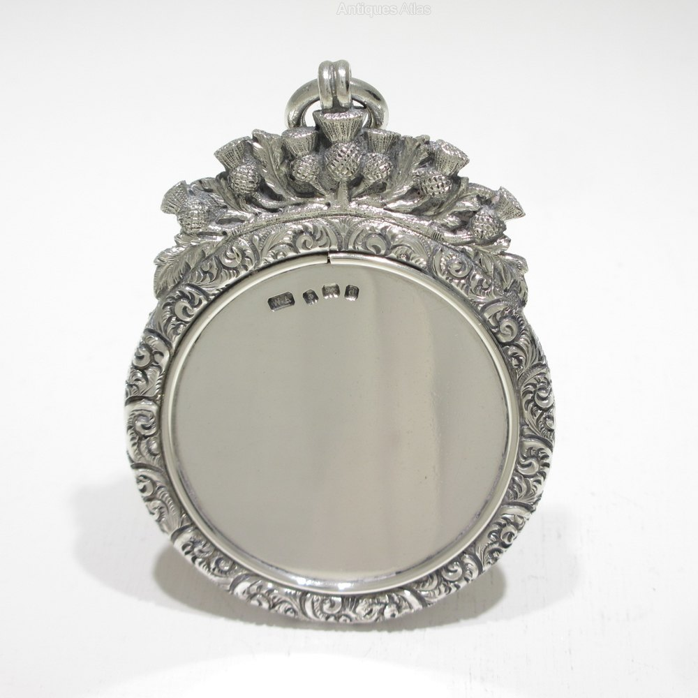 Antiques atlas a edwardian cast solid silver chatelaine for Mirror mirror cast