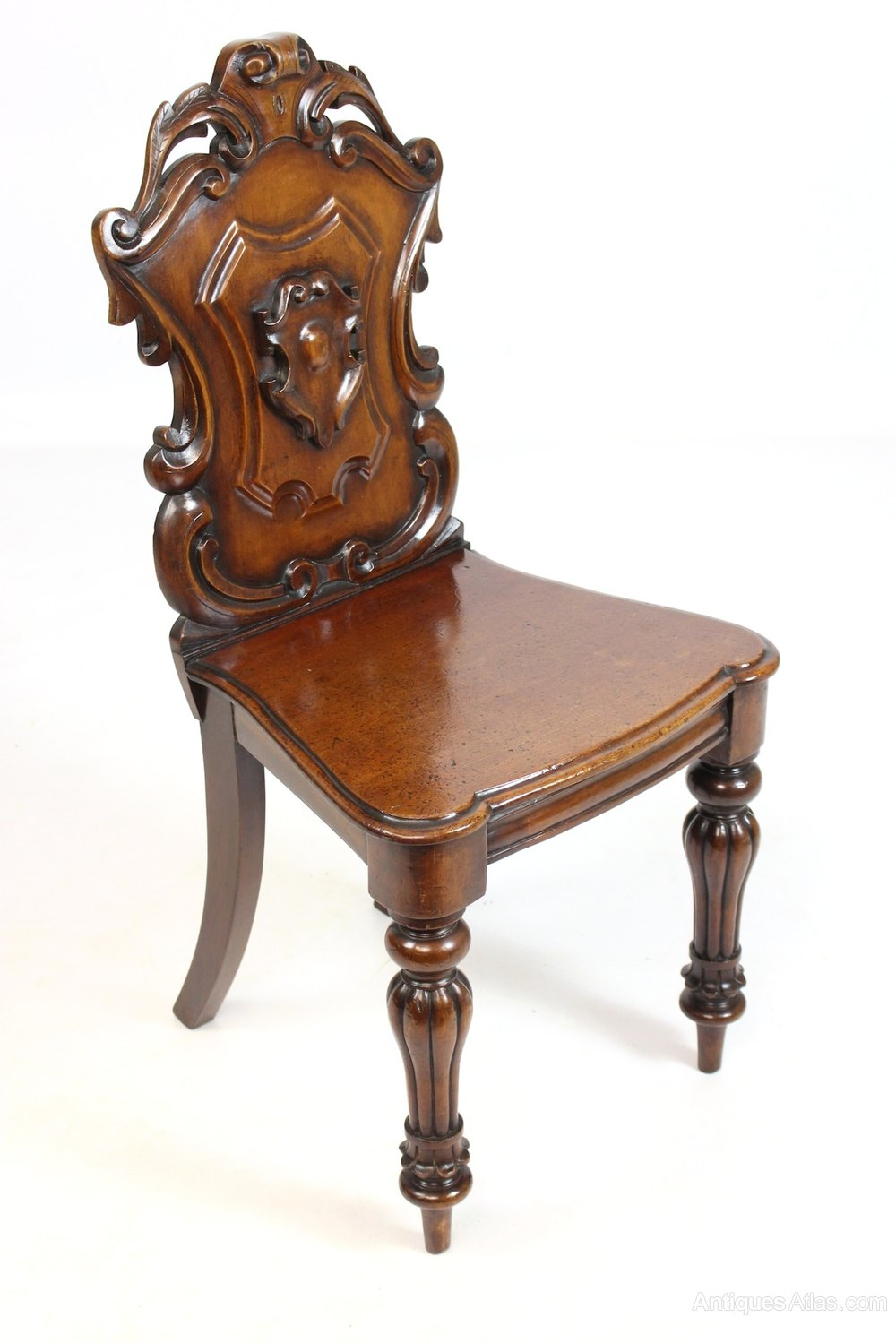 Antique Mahogany Hall Bedroom Occasional Chair Antiques Atlas