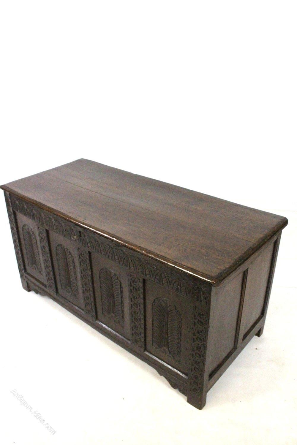 Ottoman chest metro storage crimson