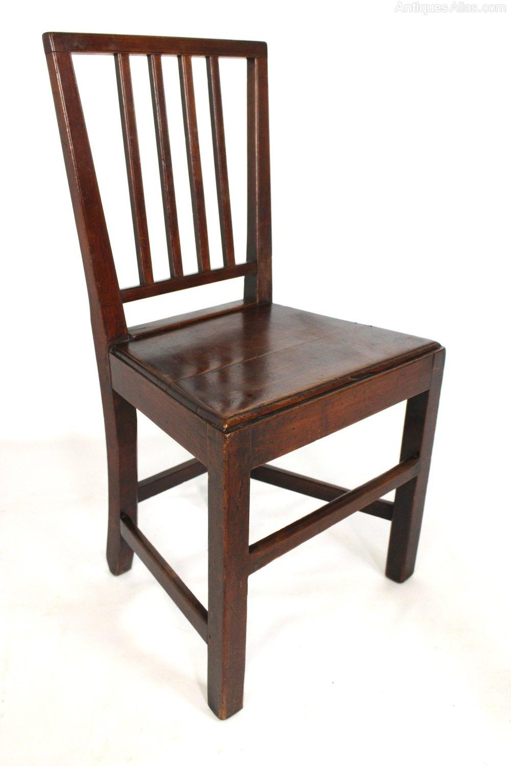 Pair Of 18c Rustic Kitchen Farmhouse Chairs Antiques Atlas