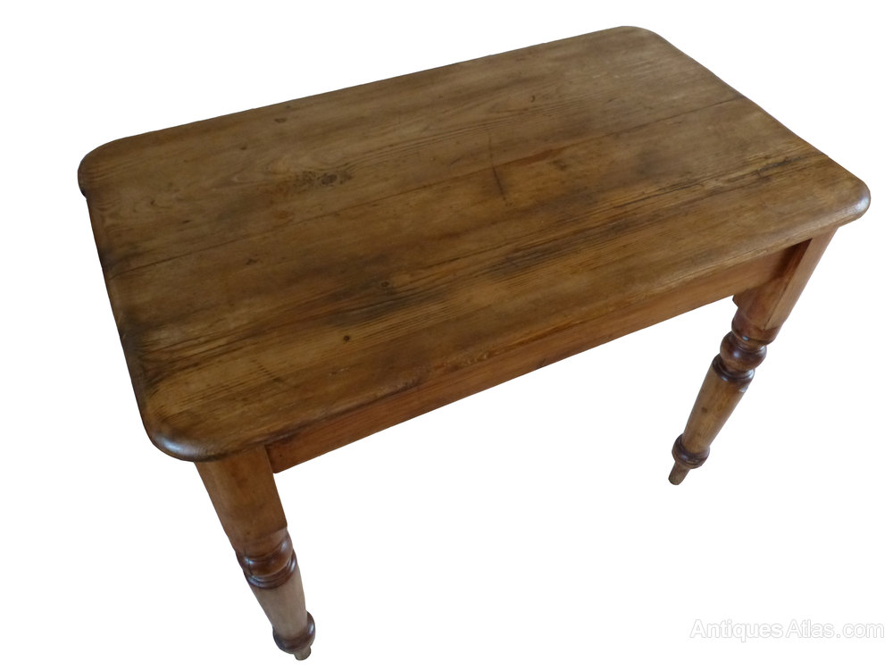 small victorian pine kitchen side occasional table antiques atlas